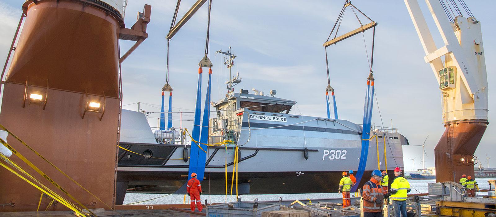 defence force ship transportation